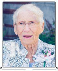 Jean Grace Goodall, née Cullen, 1928-2020
