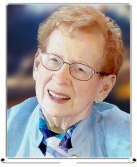 Ruth Graham Petch (née Robinson), R.N., B.A, April 20, 1929 - March 10, 2021